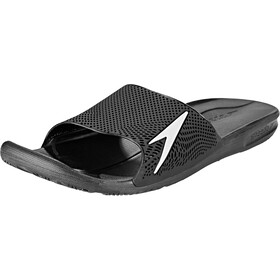 speedo Atami II Max Badslippers Heren, black/white